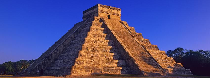 Aztec Pyramid Facebook Cover
