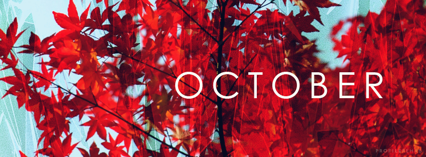 Red against Blue Autumn Leaves October - Red against Blue Autumn Leaves October Images -